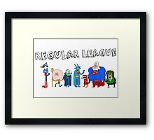 Regular League Framed Print