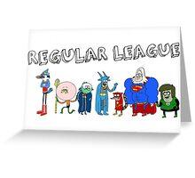 Regular League Greeting Card