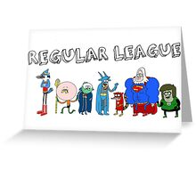 Regular League Greeting Card