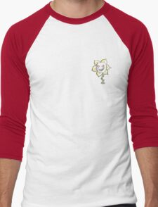 Flowy The Flower  Men's Baseball ¾ T-Shirt
