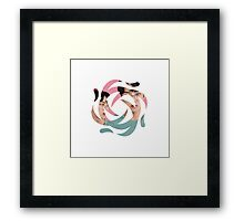 EXO - Sehun Air/Wind Symbol Framed Print