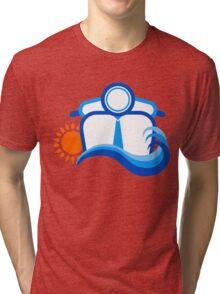 Summer Beach Tri-blend T-Shirt