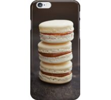 French macarons iPhone Case/Skin