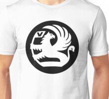 Vauxhall Badge WHT/BLK Unisex T-Shirt