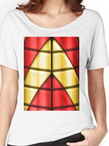 Superheroes - Red and Gold Women's Relaxed Fit T-Shirt