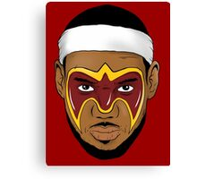 Lebron Greatness Ultimate Canvas Print