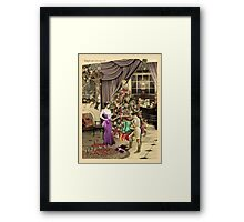 Ralph, are you queer? Framed Print