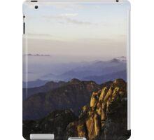 morning at shan-qing mountain iPad Case/Skin