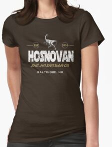 Hosnovan Vintage Two Womens Fitted T-Shirt