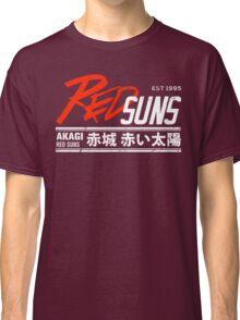Initial D - RedSuns Tee (White) Classic T-Shirt