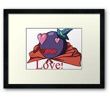 Flame Eater - Love Framed Print