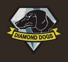 Metal Gear Solid V - Diamond Dogs Badge by arunsundibob