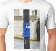 Tardis Street Art Unisex T-Shirt
