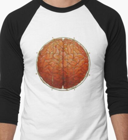Cerebral Hyperstereogram Men's Baseball ¾ T-Shirt
