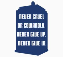 Never give up by qindesign