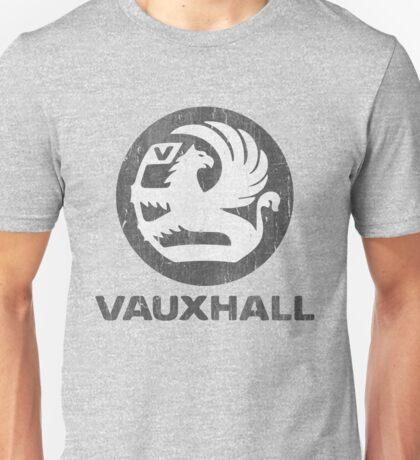 Vauxhall Distressed Badge Unisex T-Shirt