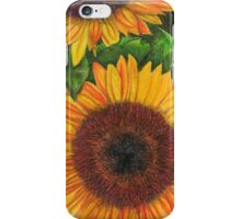 Sunflower Sketch iPhone Case/Skin