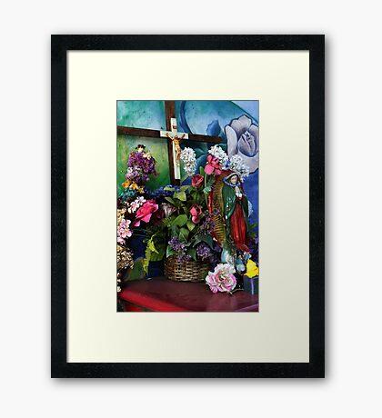 Chicano Park Shrine Framed Print