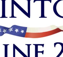Clinton Kaine 2016 Campaign Design Sticker