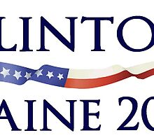 Clinton Kaine 2016 Campaign Design by Roadie212