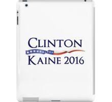 Clinton Kaine 2016 Campaign Design iPad Case/Skin