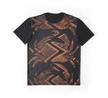 Three Copper Crabs, copper and black tiki crabs Graphic T-Shirt