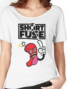 Short fuse angry red dynamite Women's Relaxed Fit T-Shirt