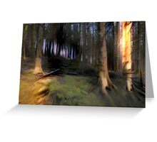 Forest Roots Greeting Card