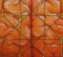 Cerebral Hyperstereogram II Sticker