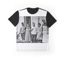 WW2 - German Soldiers and African British, French Soldiers peaceful together Graphic T-Shirt