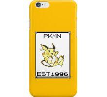 Raichu - OG Pokemon iPhone Case/Skin