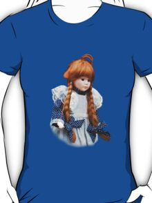 Red haired porcelain doll T-Shirt