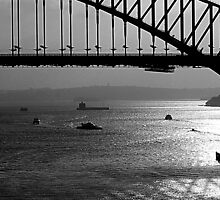 Sydney Harbour; early morning. by ronsphotos