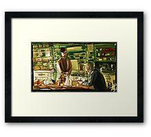 Best Man Framed Print