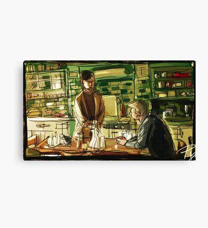 Best Man Canvas Print