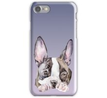 Boston Terrier Puppy Dog Watercolor iPhone Case/Skin