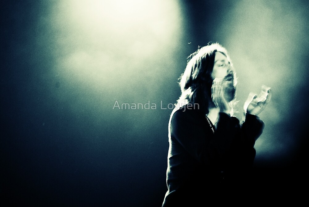 Chris Robinson from The Black Crowes at Bluesfest 2008 by Amanda Lowjen