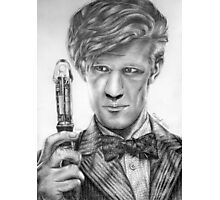 Matt Smith Portrait - 11th Doctor Photographic Print