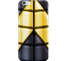 Superheroes - Black Yellow iPhone Case/Skin