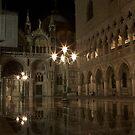 Piazzetta di San Marco in piena. by stjc