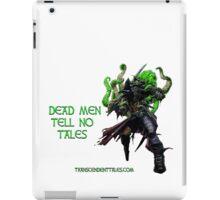 Zombie Pirate 1 iPad Case/Skin
