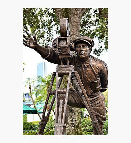Hollywood Studios Film Director Statue Photographic Print