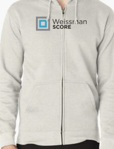 "Silicon Valley ""Weissman Score"" Zipped Hoodie"