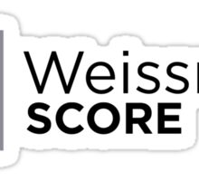 "Silicon Valley ""Weissman Score"" Sticker"