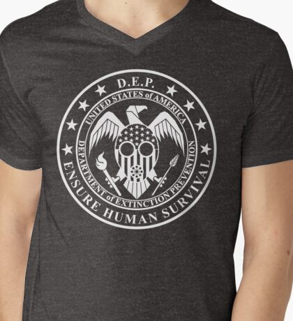 To Die For - D.E.P. V Neck T-Shirt Mens V-Neck T-Shirt