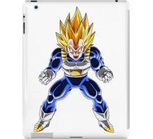 Vegeta transform's into a Super Saiyan 2 - Dragon Ball Z iPad Case/Skin