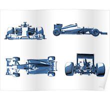 F1 Plan Design Poster
