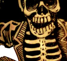 Posada Day of the Dead Outlaw Sticker