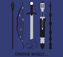 Choose Wisely! (Black Text) by NoTHEnd