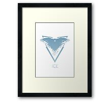 Team Ice Thrones/Pokemon Mashup Framed Print